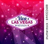 las vegas casino sign.casino...   Shutterstock .eps vector #644322688