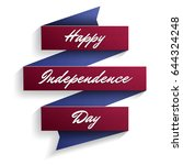 independence day in the united...   Shutterstock .eps vector #644324248