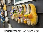 close up clogs  zaanse schans ... | Shutterstock . vector #644325970