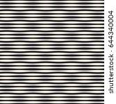 wavy stripes vector seamless... | Shutterstock .eps vector #644340004