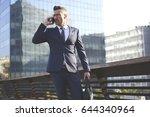 confident male entrepreneur... | Shutterstock . vector #644340964