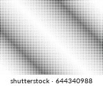 abstract halftone dotted...   Shutterstock .eps vector #644340988