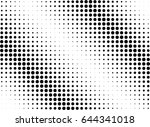 abstract halftone dotted...   Shutterstock .eps vector #644341018