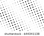 abstract halftone dotted...   Shutterstock .eps vector #644341138