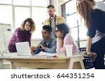 skilled it developers testing... | Shutterstock . vector #644351254
