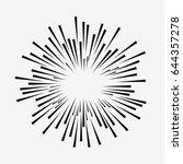 comic explosion effect. radial... | Shutterstock .eps vector #644357278