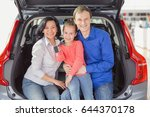 beautiful loving family smiling ... | Shutterstock . vector #644370178