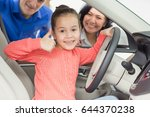 beautiful lovely little girl... | Shutterstock . vector #644370238