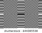 seamless pattern with black... | Shutterstock .eps vector #644385538