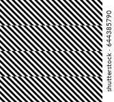 vector seamless pattern.... | Shutterstock .eps vector #644385790