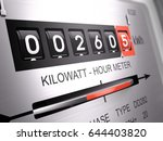 Kilowatt Hour Electric Meter ...