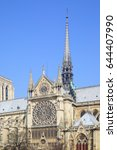 Small photo of Gothic broach of Notre Dame de Paris