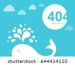 404 error page. illustration... | Shutterstock .eps vector #644414110