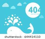 404 Error Page. Illustration...