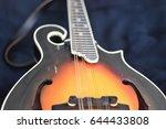 making music  acoustic mandolin | Shutterstock . vector #644433808