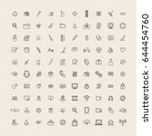 user interface vector icons...