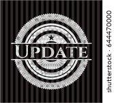 update silver badge or emblem | Shutterstock .eps vector #644470000
