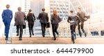 business people walking... | Shutterstock . vector #644479900