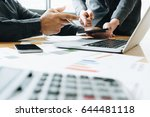 business team corporate... | Shutterstock . vector #644481118