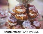 beautiful multicolored... | Shutterstock . vector #644491366