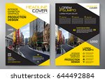 business brochure. flyer design.... | Shutterstock .eps vector #644492884