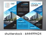 business brochure. flyer design.... | Shutterstock .eps vector #644499424