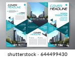 business brochure. flyer design.... | Shutterstock .eps vector #644499430