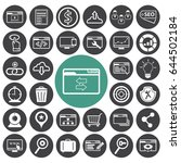 seo icons to use for web and...