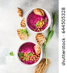 Beetroot Cream Soup With...