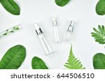 cosmetic bottle containers with ... | Shutterstock . vector #644506510