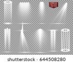 vector light sources  concert...   Shutterstock .eps vector #644508280