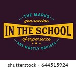 the marks you receive in the... | Shutterstock .eps vector #644515924