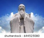 Confucius Statue With Sky...