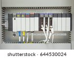 programmable logic controller   ...   Shutterstock . vector #644530024