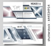 business templates for square... | Shutterstock .eps vector #644534914