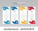 modern thai traditional info...   Shutterstock .eps vector #644541874