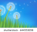 abstract spring  background... | Shutterstock .eps vector #644553058
