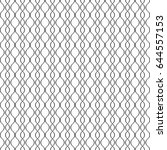 seamless pattern of wavy lines. ... | Shutterstock .eps vector #644557153