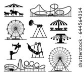 vector icons of different... | Shutterstock .eps vector #644564314