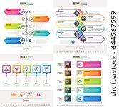 timeline infographics design...   Shutterstock .eps vector #644567599