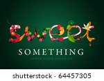 sweets conceptual illustration. ... | Shutterstock .eps vector #64457305