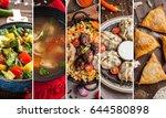 traditional oriental  uzbek... | Shutterstock . vector #644580898