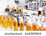 process of production new type... | Shutterstock . vector #644589844