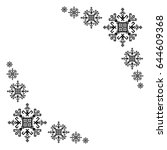ethnic motifs graphic design... | Shutterstock .eps vector #644609368