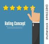 Rating Golden Stars. Customer...
