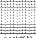 tennis net seamless pattern... | Shutterstock . vector #644614624