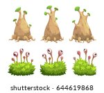 funny cartoon fantasy trees and ...