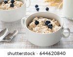 oatmeal porridge   porridge... | Shutterstock . vector #644620840