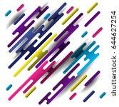 modern design in colors. vector ... | Shutterstock .eps vector #644627254