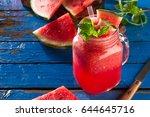 tasty fresh appetizing... | Shutterstock . vector #644645716
